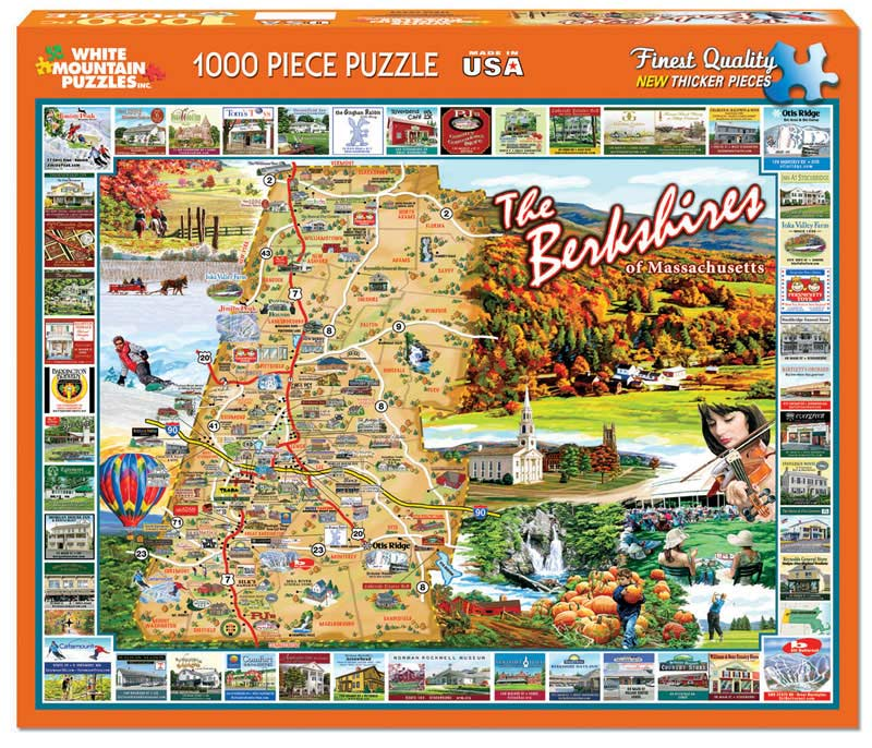 The berkshires of massachusetts jigsaw puzzle for The berkshire
