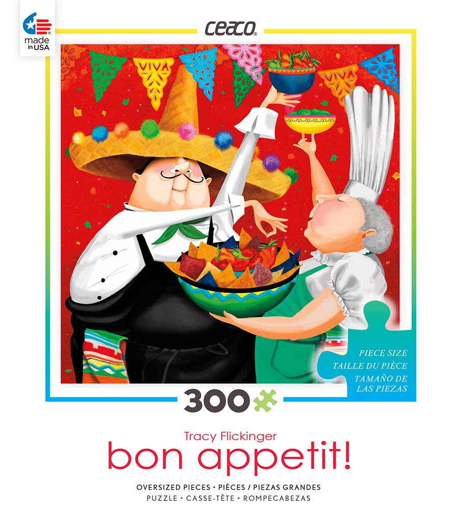 Cinco de Mayo (Bon Appetit) Cartoons Jigsaw Puzzle