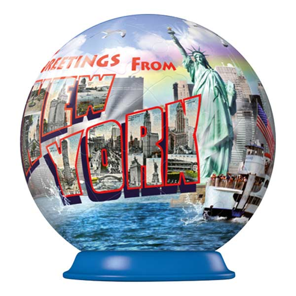 Greetings from New York New York Jigsaw Puzzle