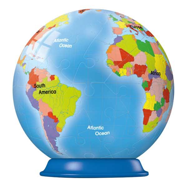 Puzzleball - Earth (54pc) Maps Puzzleball
