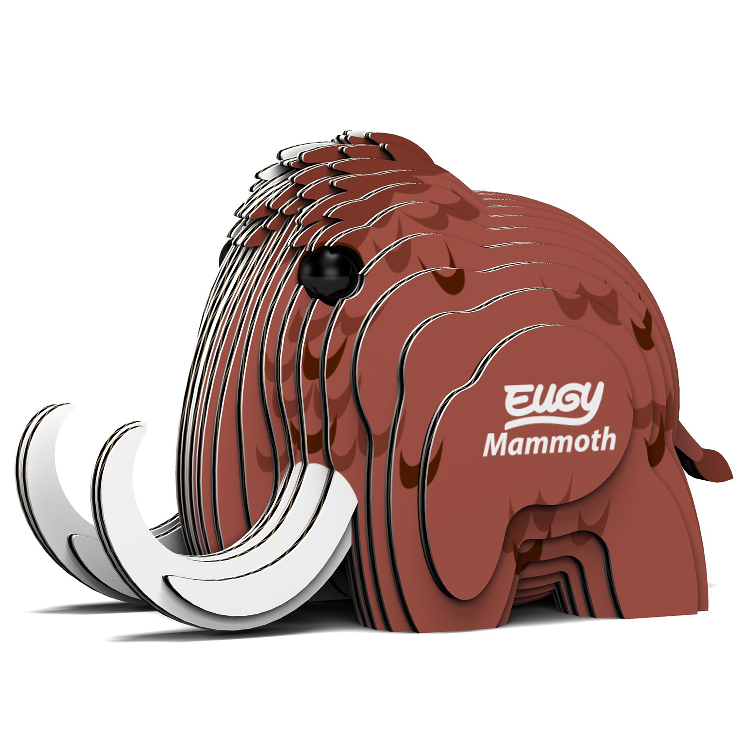 Mammoth Eugy Animals 3D Puzzle