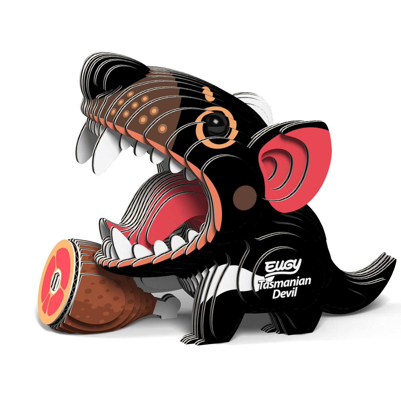 Tasmanian Devil Eugy Animals 3D Puzzle