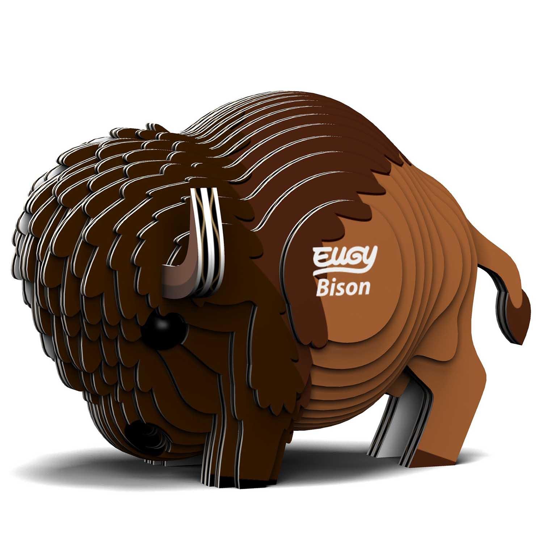 Bison Eugy Animals 3D Puzzle