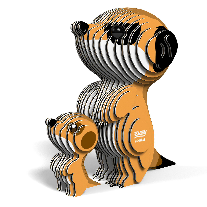 Meerkat Eugy Animals 3D Puzzle