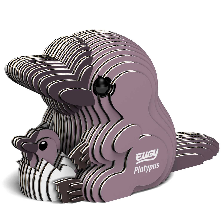Platypus Eugy Animals 3D Puzzle