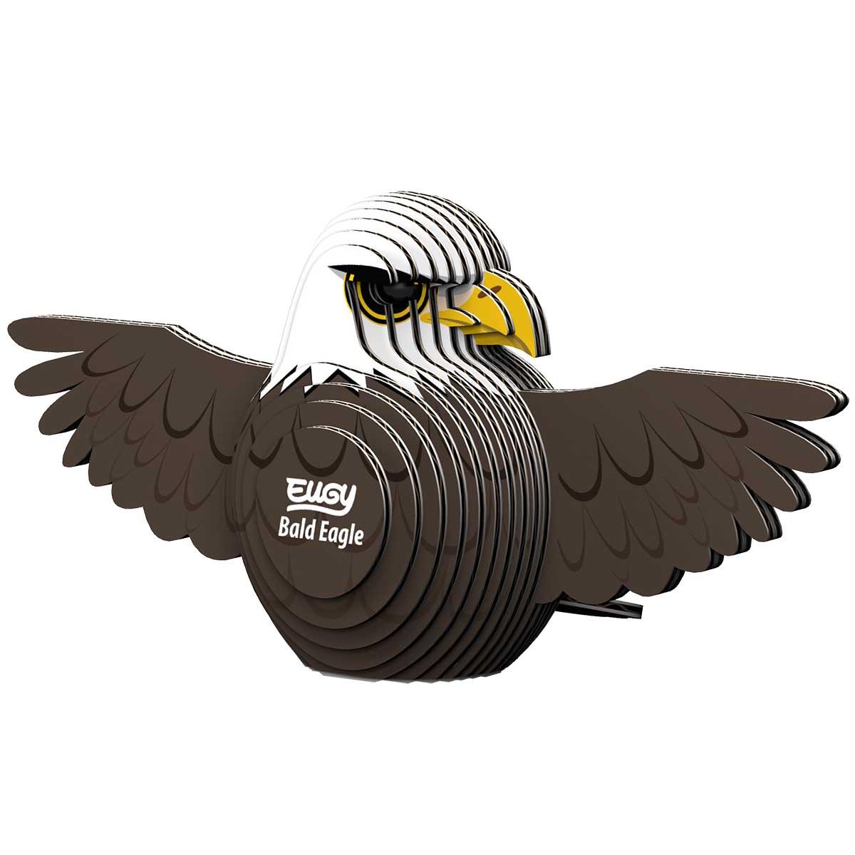 Bald Eagle Eugy Eagles 3D Puzzle