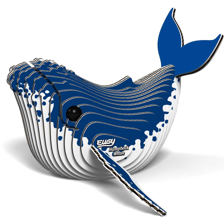 Humpback Whale Eugy Under The Sea 3D Puzzle