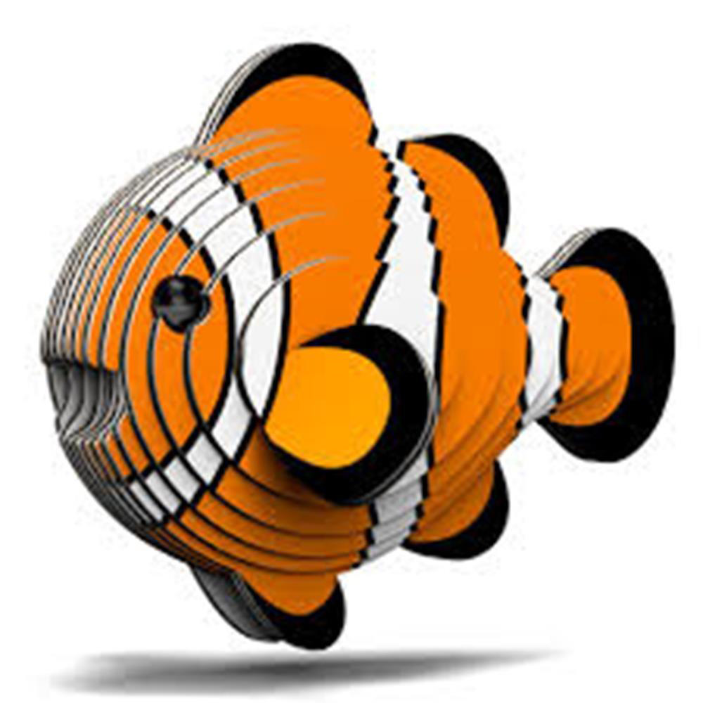 Clownfish Eugy Animals 3D Puzzle