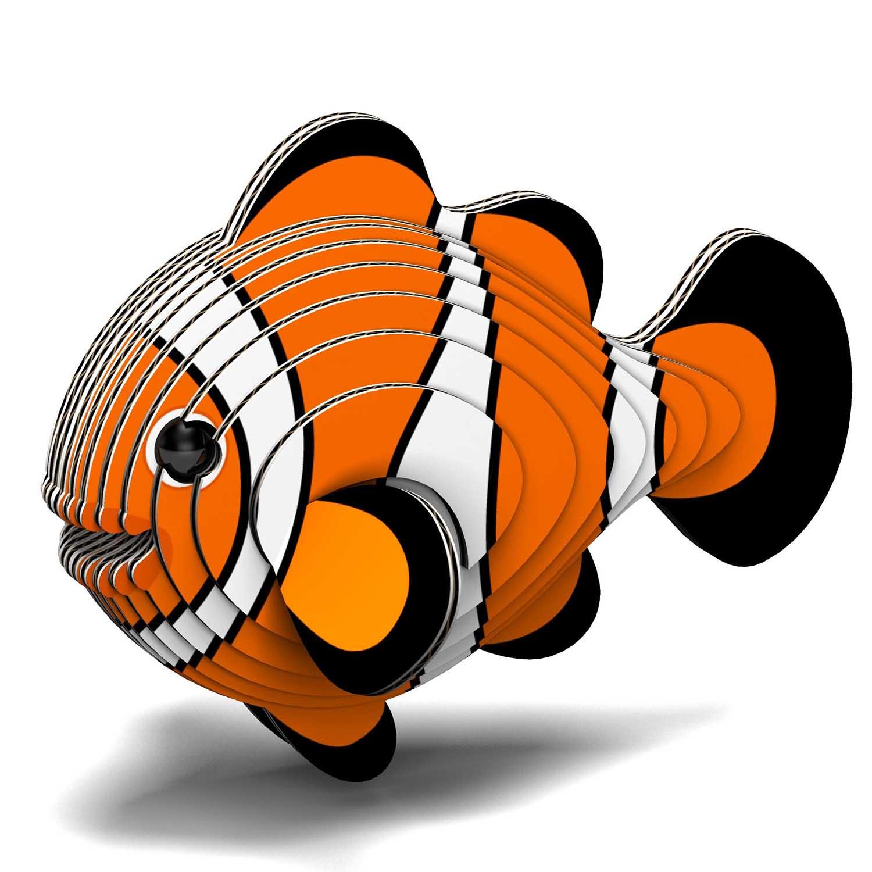 Clownfish Eugy Animals 3D Puzzle