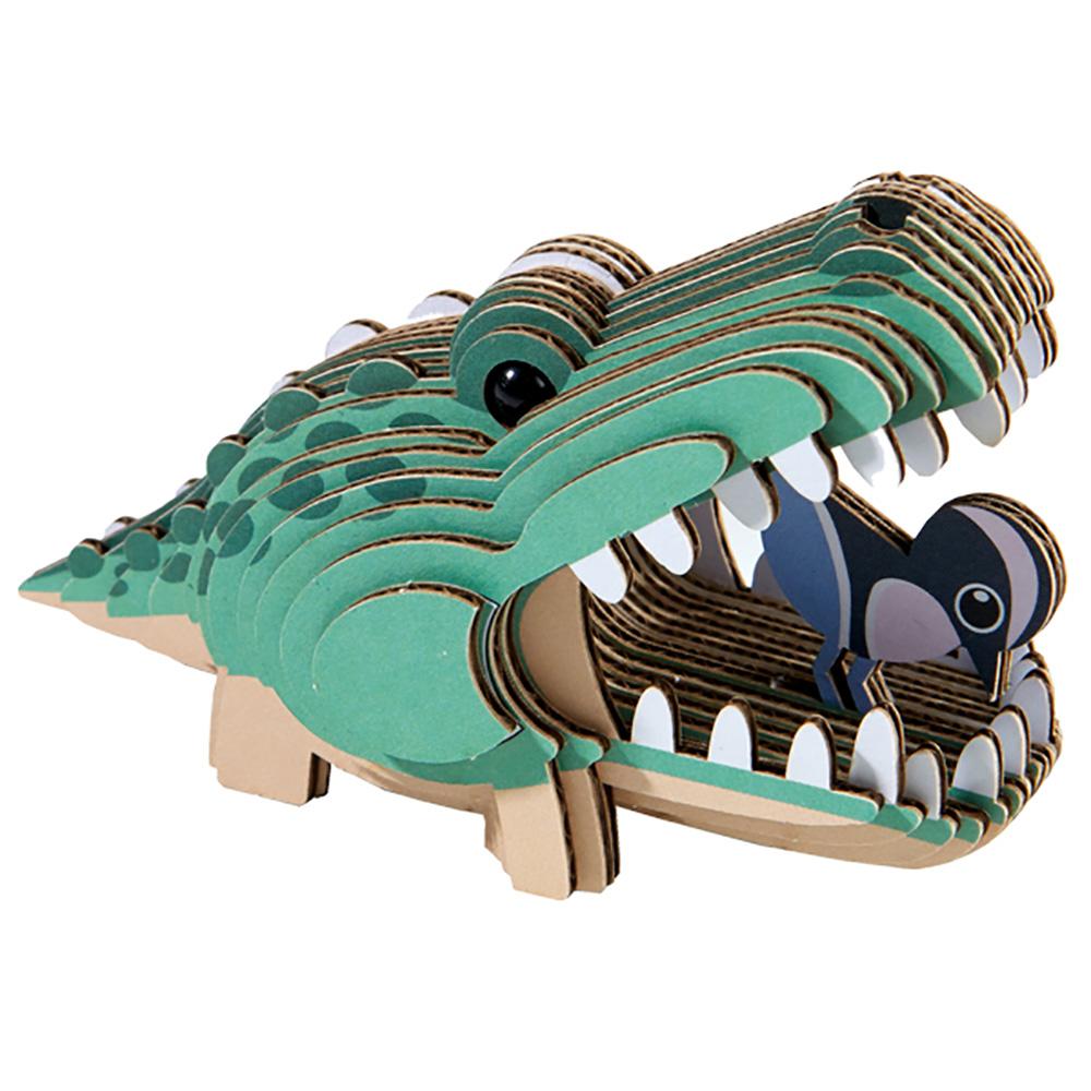 Alligator Eugy Animals 3D Puzzle