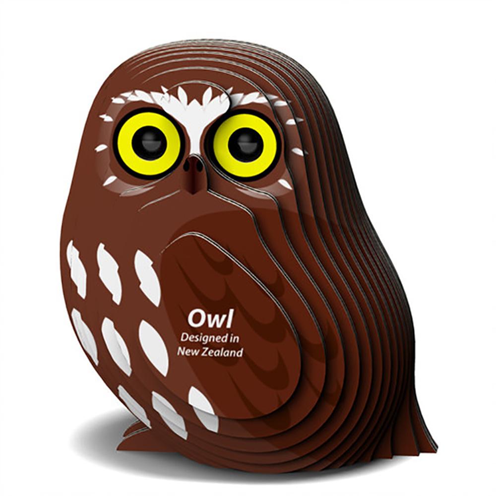 Owl Eugy Animals 3D Puzzle