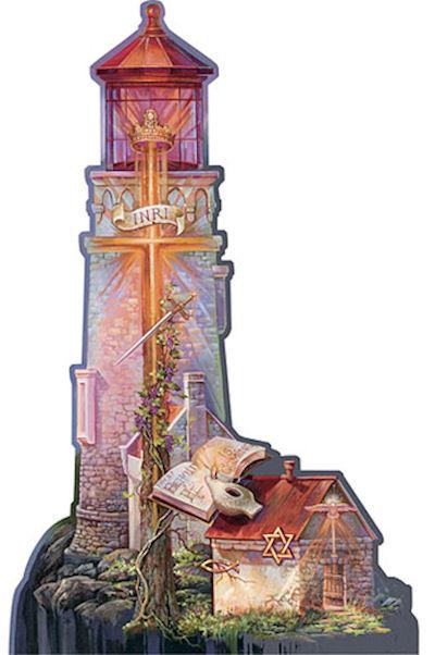 Refuge II Lighthouses Jigsaw Puzzle