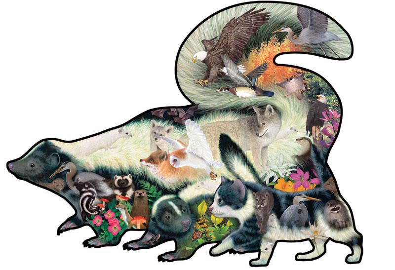 Mistaken Identity Wildlife Jigsaw Puzzle