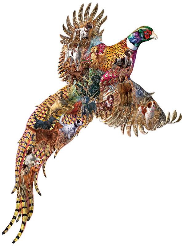 Pheasant Days Birds Jigsaw Puzzle
