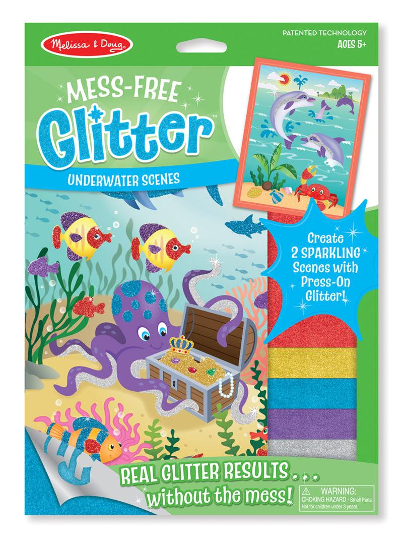 Mess Free Glitter Underwater Scenes Puzzlewarehouse Com