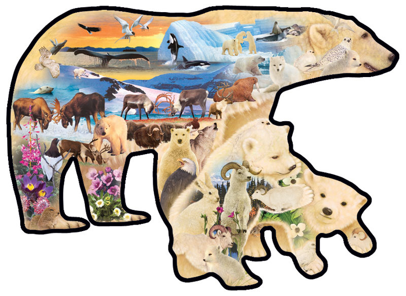 Polar Explorers Bears Jigsaw Puzzle
