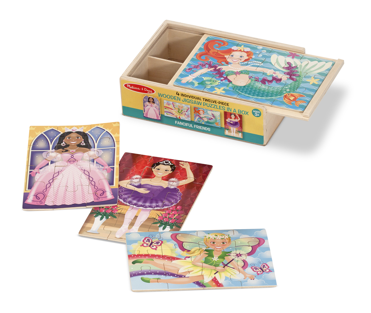 Fanciful Friends Puzzles in a Box Fairies Jigsaw Puzzle