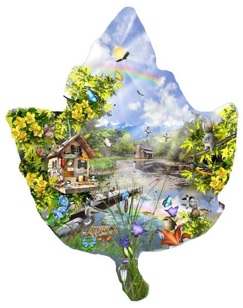 Summer Splendor Summer Jigsaw Puzzle