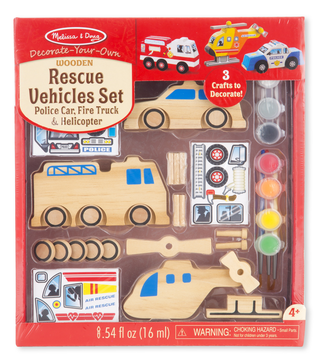 Rescue Vehicles Set Cars