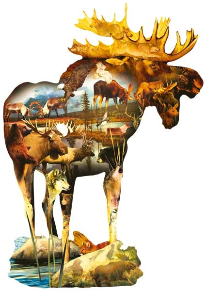 Formidable Wildlife Jigsaw Puzzle
