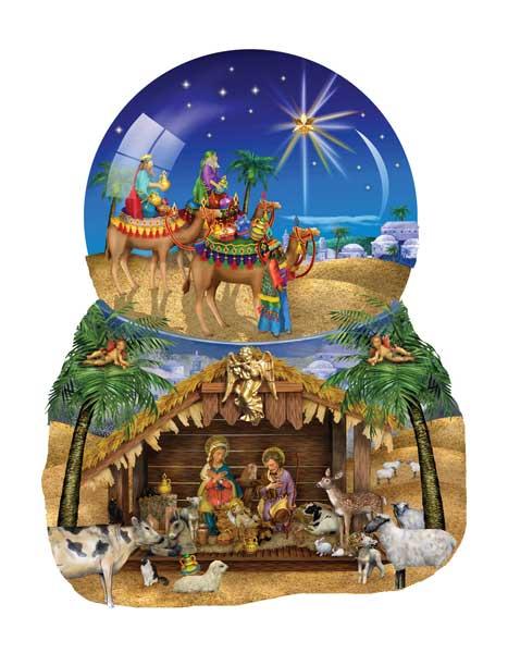 O Star Of Bethlehem Shaped Puzzle Puzzlewarehouse Com