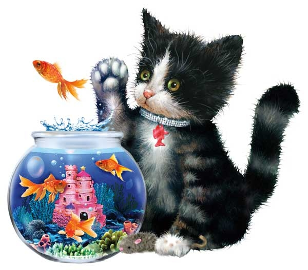 Splash! Cats Jigsaw Puzzle