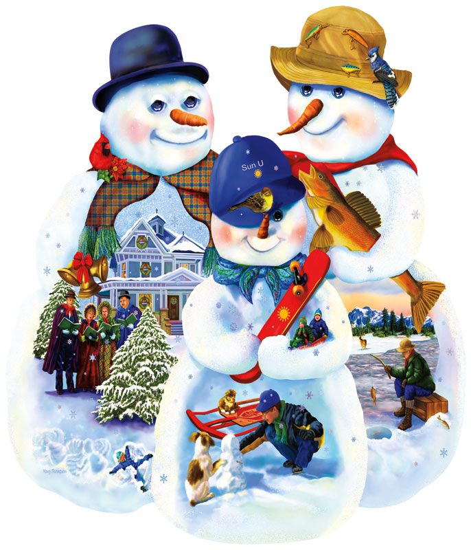 Generations Christmas Jigsaw Puzzle