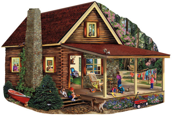Spring Break Countryside Jigsaw Puzzle