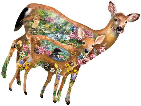 Forest Friends Wildlife Jigsaw Puzzle