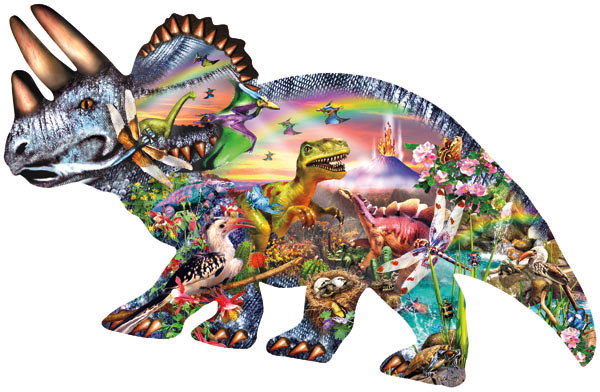 When Dinosaurs Ruled Dinosaurs Jigsaw Puzzle