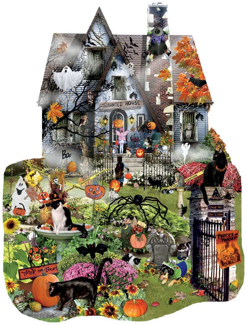 Spooky House Halloween Jigsaw Puzzle