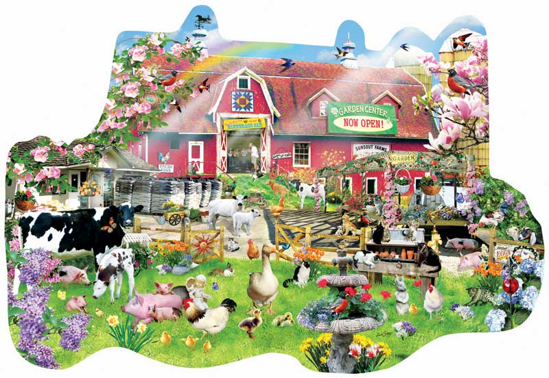 New Arrivals Farm Jigsaw Puzzle