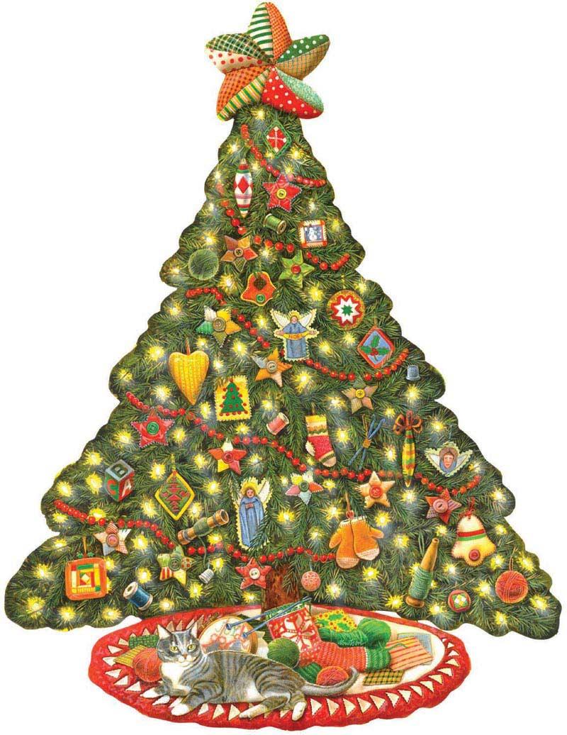 A Homespun Christmas Christmas Jigsaw Puzzle