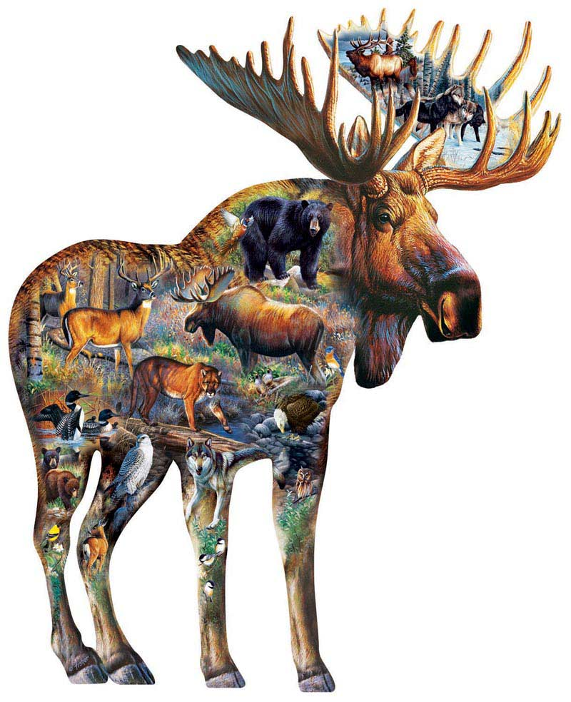 Walk on the Wild Side Animals Jigsaw Puzzle