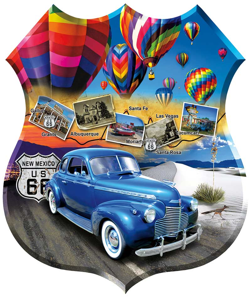Enchanted Highway Cars Jigsaw Puzzle