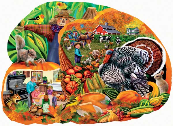 Country Harvest Fall Jigsaw Puzzle