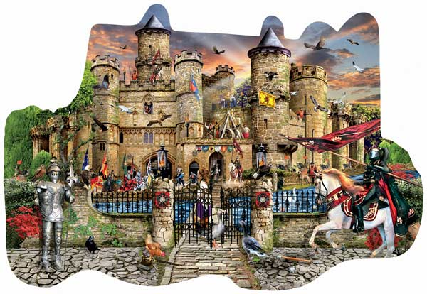 Castle Stronghold Castles Jigsaw Puzzle