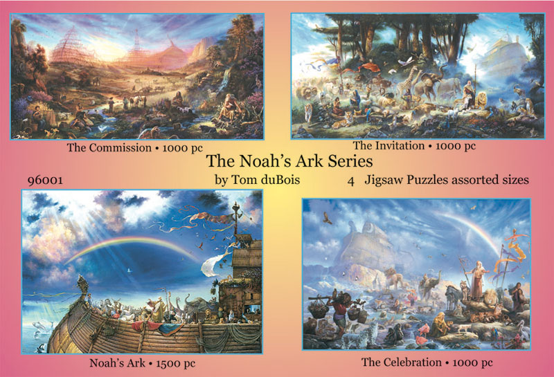 The Noah's Ark Series Religious Jigsaw Puzzle
