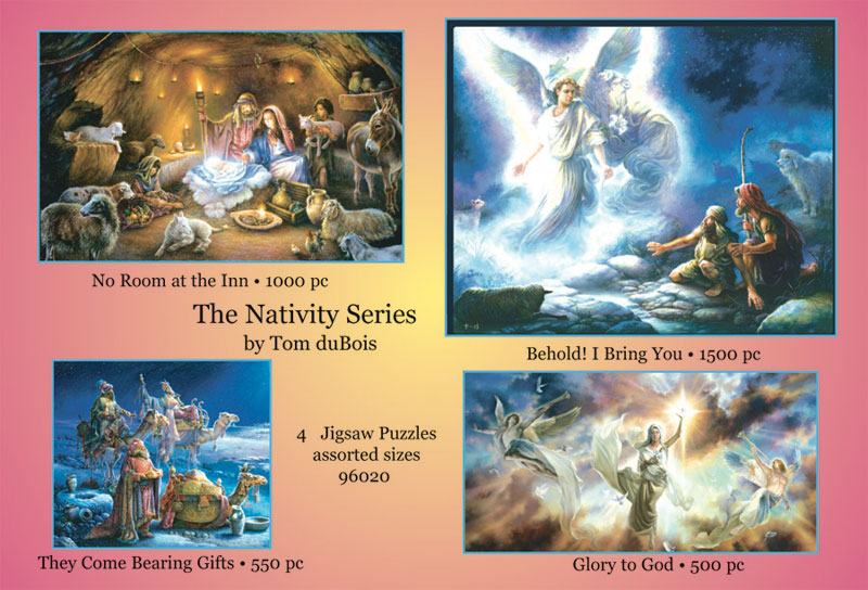 The Nativity Series Religious Jigsaw Puzzle