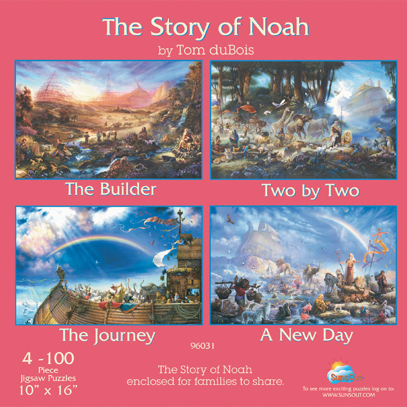 The Story of Noah Religious Jigsaw Puzzle