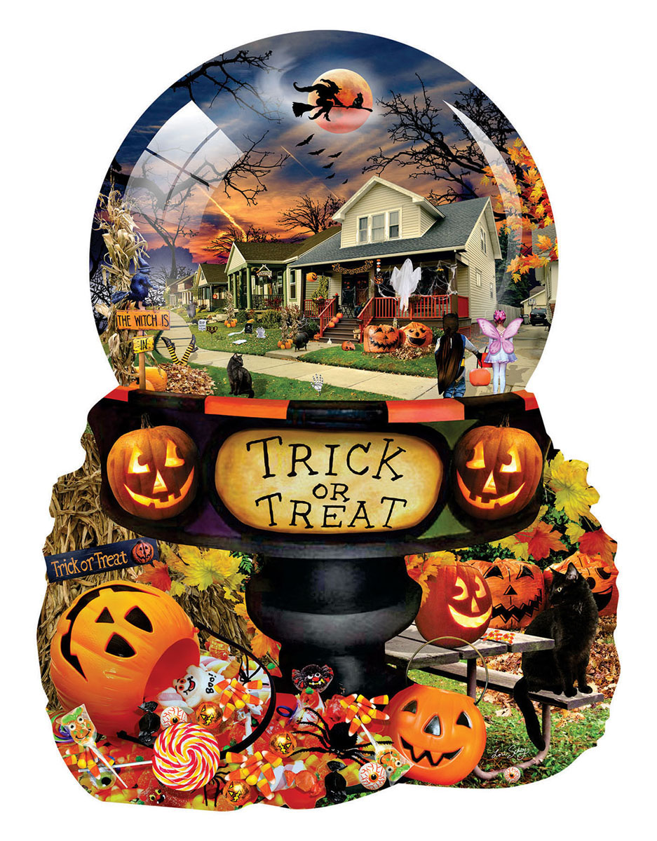 Halloween Globe Halloween Shaped Puzzle