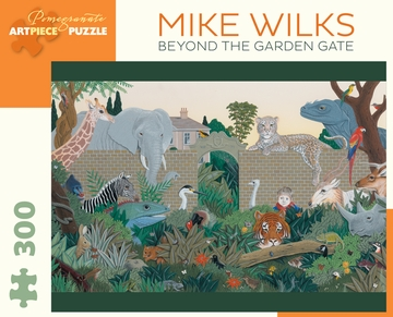 Beyond the Garden Gate Dinosaurs Jigsaw Puzzle