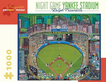 Night Game - Yankee Stadium Sports Jigsaw Puzzle