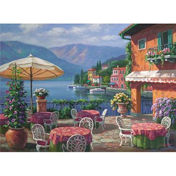 Lago Café Outdoors Jigsaw Puzzle