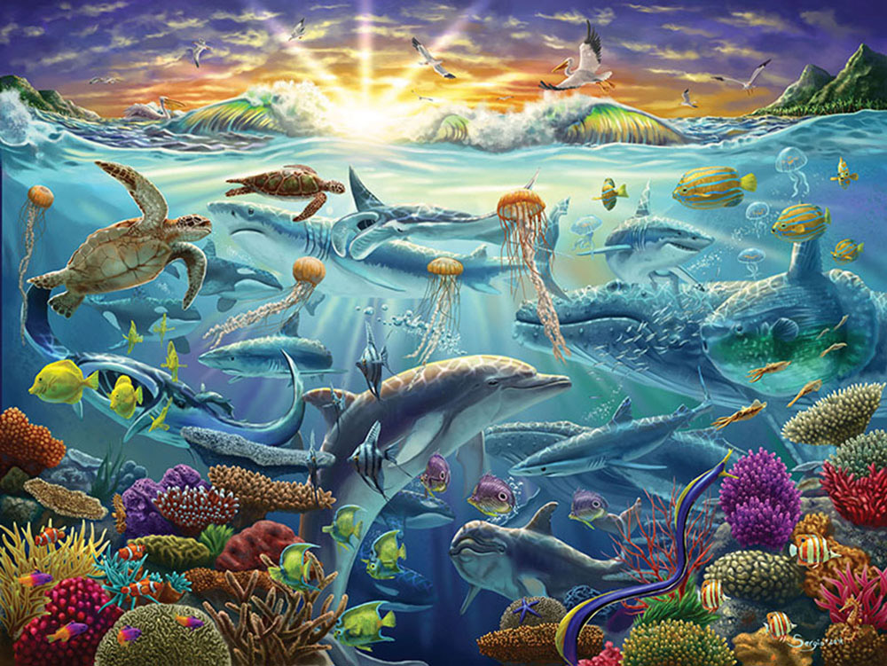 Ocean of Life (Collector) - Scratch and Dent Under The Sea Jigsaw Puzzle
