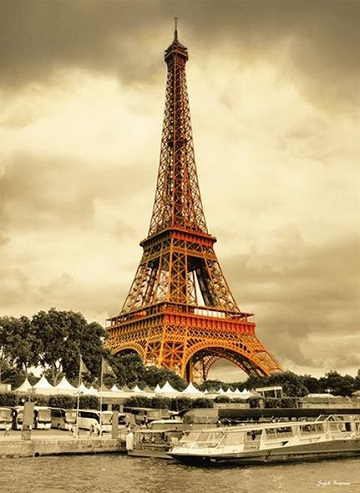 The Eiffel Tower Landmarks / Monuments Jigsaw Puzzle