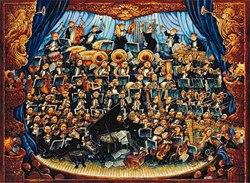 Fortissimo Music Jigsaw Puzzle