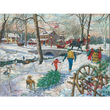 Pine Creek Mills - Scratch and Dent Wildlife Jigsaw Puzzle