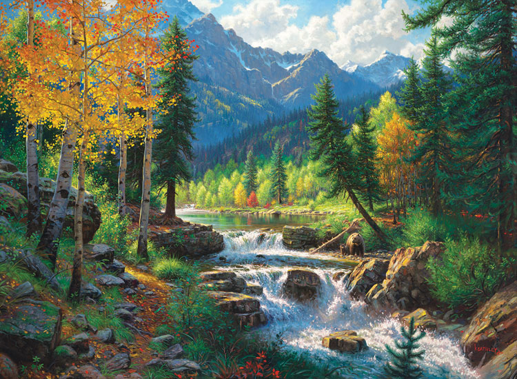 Mountain Medley - Scratch and Dent Fall Jigsaw Puzzle