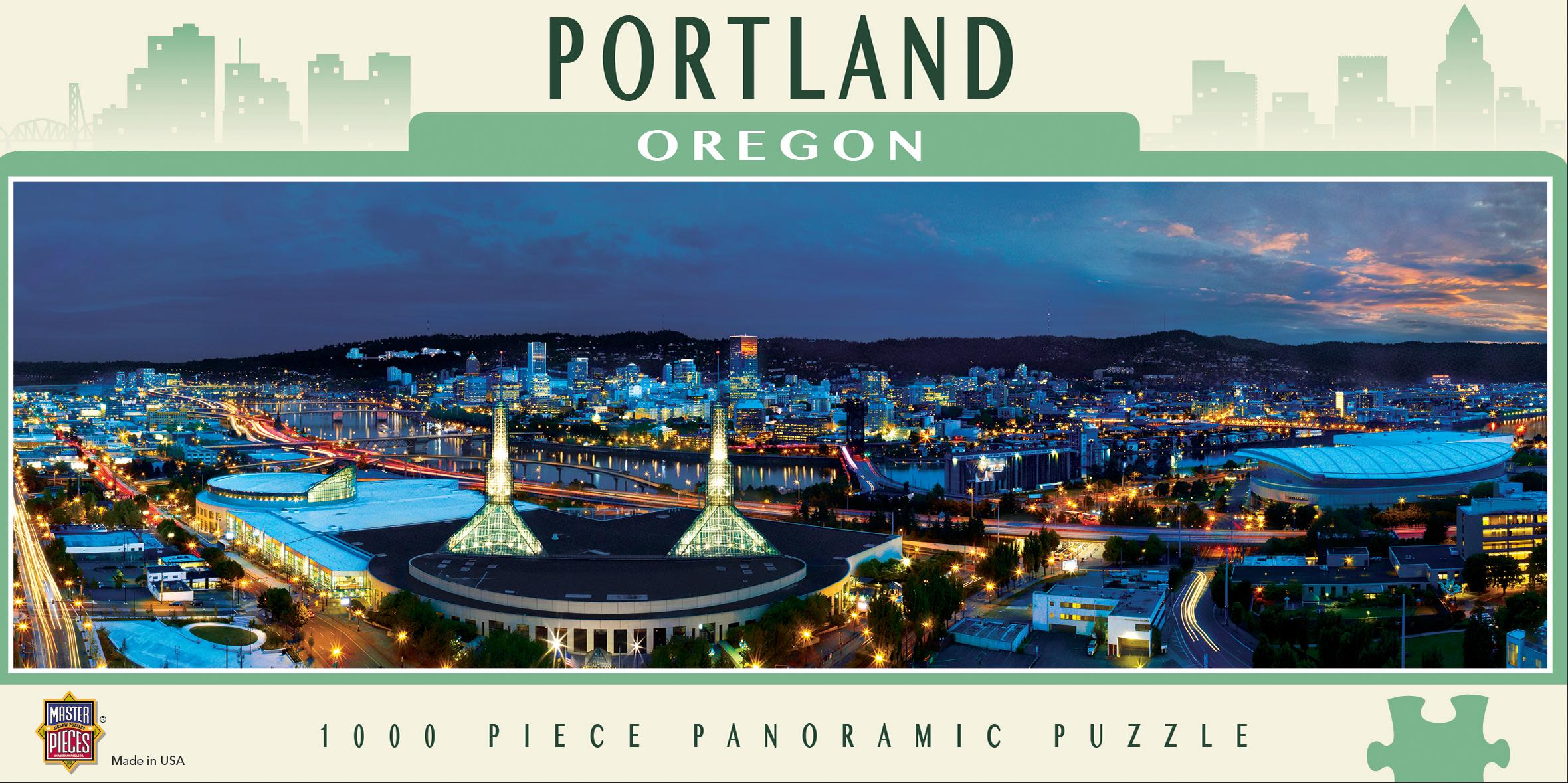 Portland Landmarks / Monuments Jigsaw Puzzle